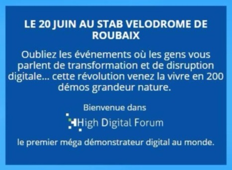 Save the date! High Digital Forum – 20 juin 2017
