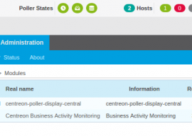 New release of Centreon Poller Display 1.6