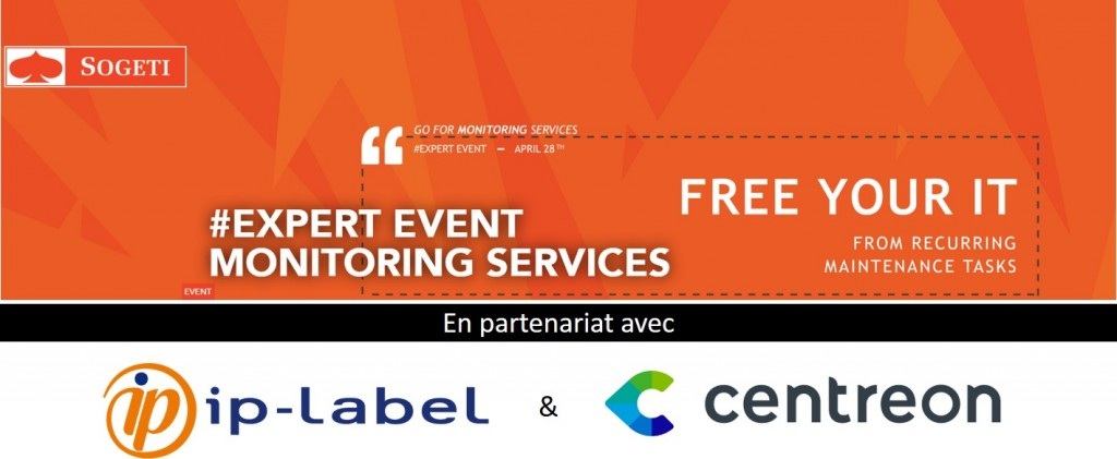 Centreon will take part in Sogeti Luxembourg #ExpertEvent Monitoring Services on April 28th in Luxembourg