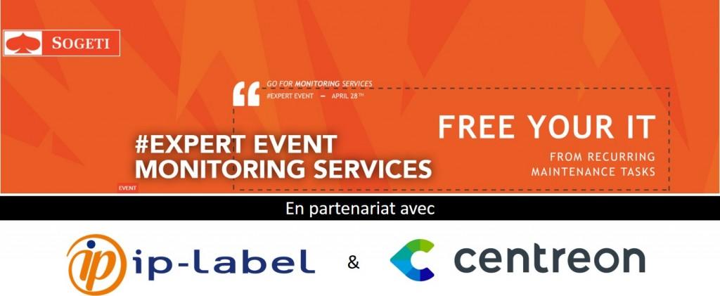 Evénement Sogeti Luxembourg, #ExpertEvent Monitoring Services, en partenariat avec ip-label et Centreon