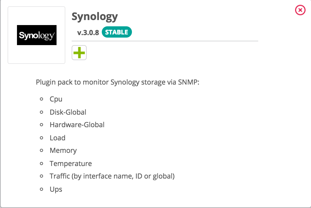 Monitor your Synology NAS instantly!