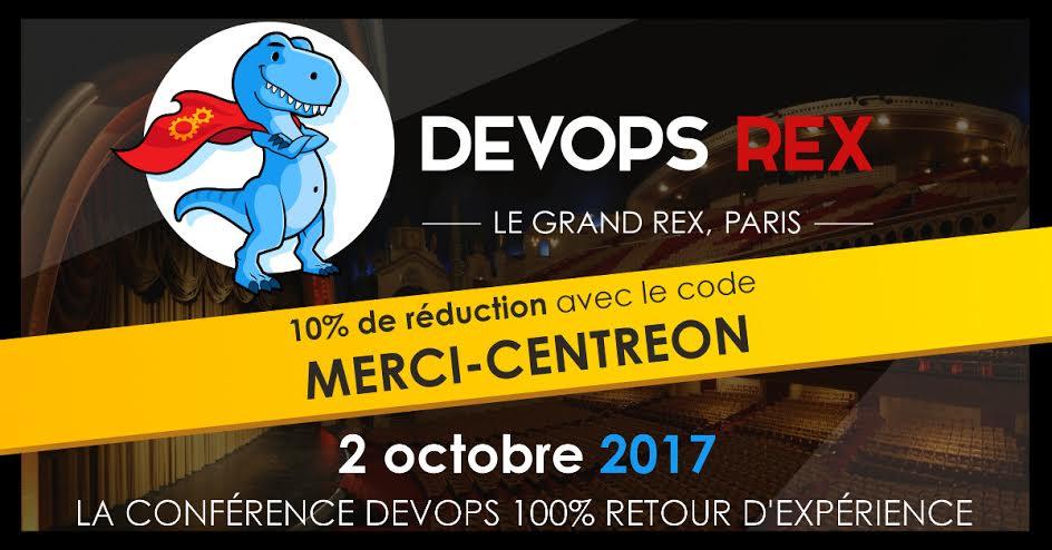 Save the date! – Devops REX – Paris – 02 octobre 2017