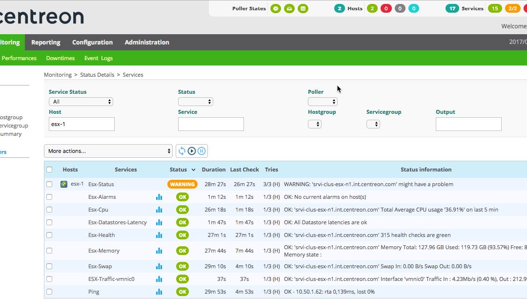 Monitor your VMware infrastructure