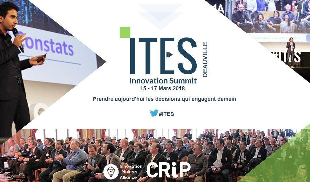 Centreon sponsorise l'ITES Innovation Summit 2018, le rdv des CTOs du CRiP