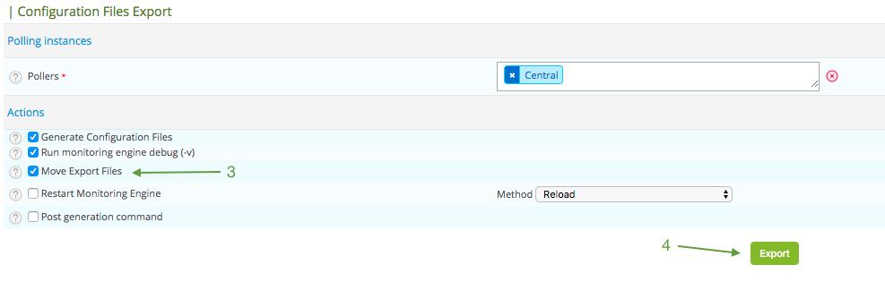 Centreon tutorial: export data to Graphite