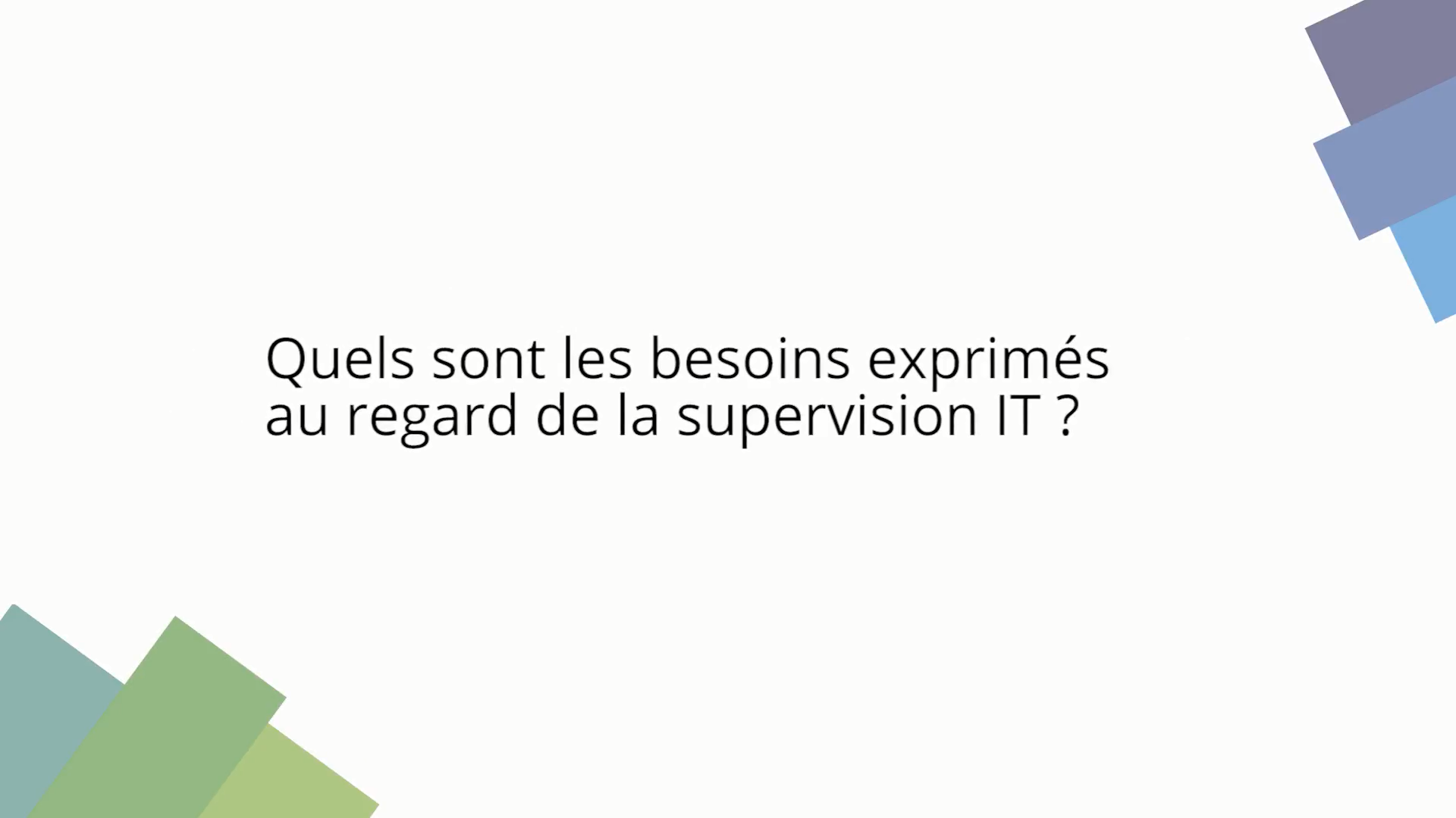 Cerntreon, supervision informatique