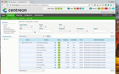How to install a Centreon platform from a Virtual Machine? Step by step