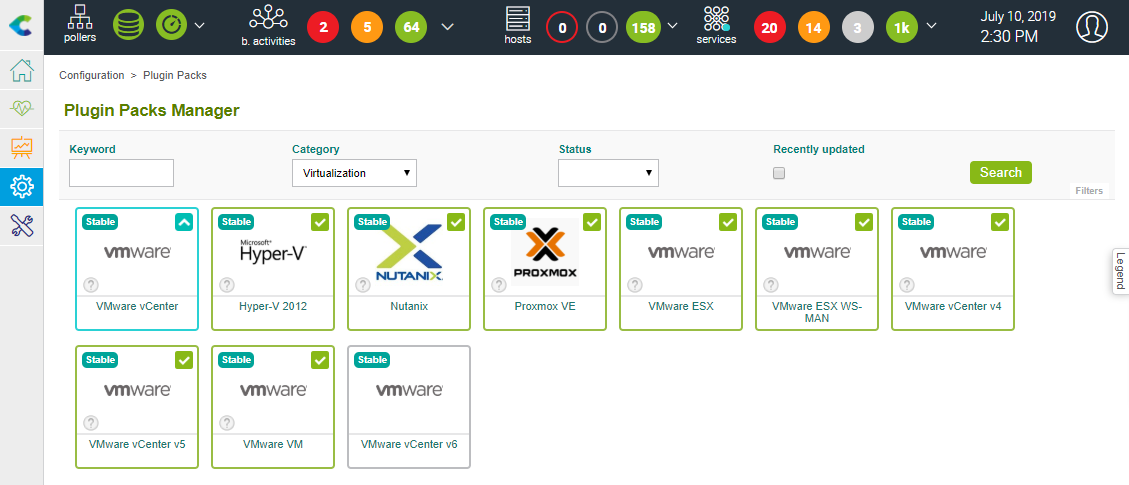Centreon, supervision informatique, IT monitoring, tutoriel Centreon, superviser Centreon avec VMware