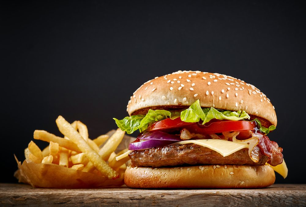 La supervision informatique supporte la vente de hamburgers