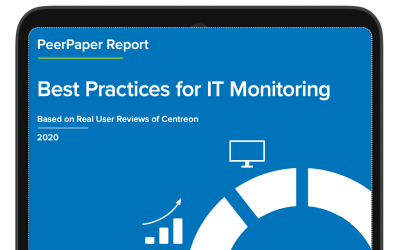 IT Central Station peerpaper report: Best practices for IT Monitoring, based on real user reviews of Centreon