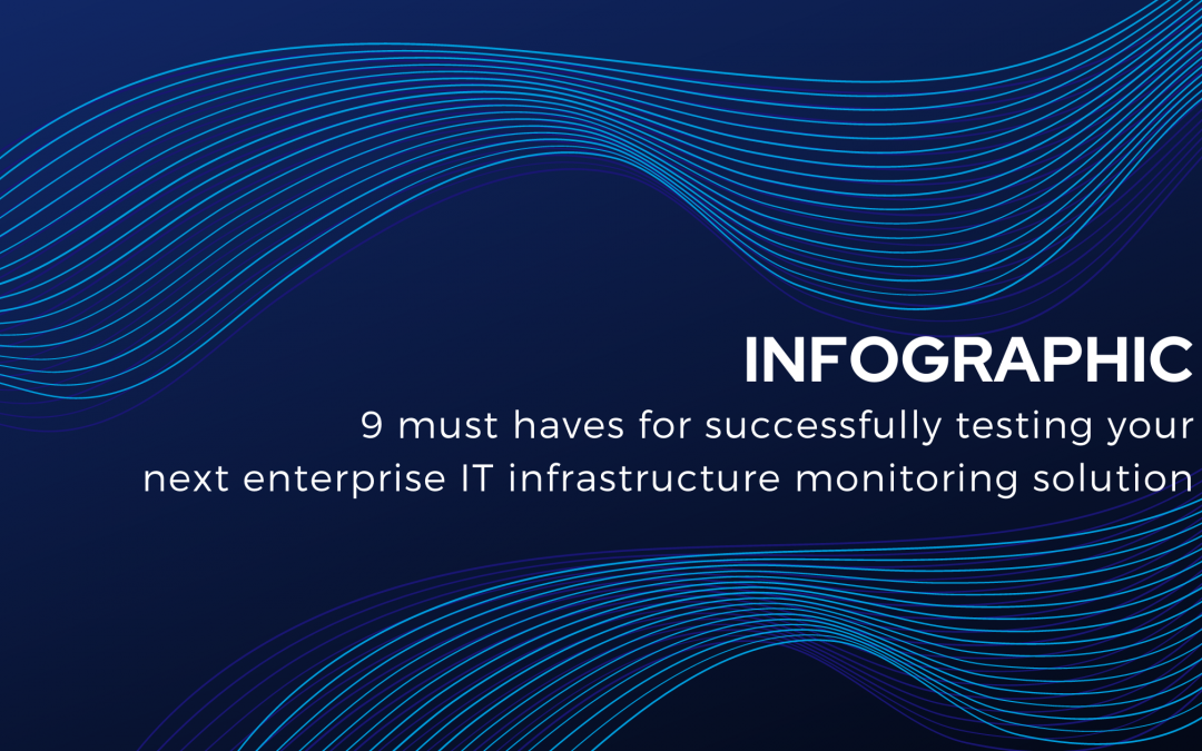 The 9 must haves for successfully testing your next enterprise IT infrastructure monitoring solution