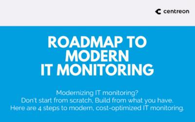 Roadmap to Modern IT Monitoring