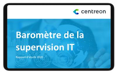 Baromètre de la supervision IT – Rapport d'étude 2020