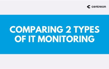 Comparing 2 types of IT monitoring