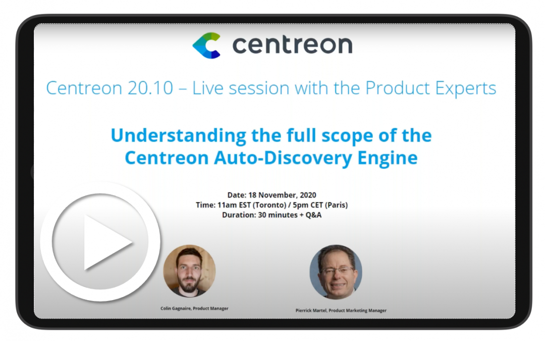 Understanding the full scope of the Centreon Auto-Discovery Engine