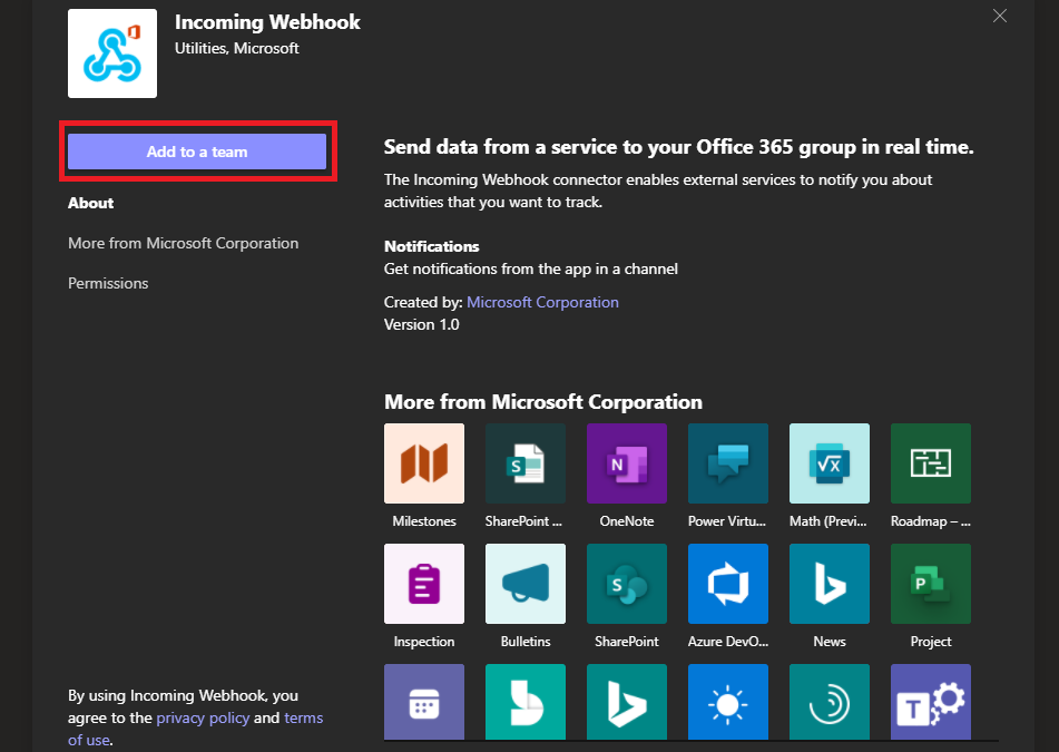 Seamless collaboration: Send Centreon notifications in Microsoft Teams rooms