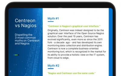 Dispelling the 3 most common myths on Centreon and Nagios