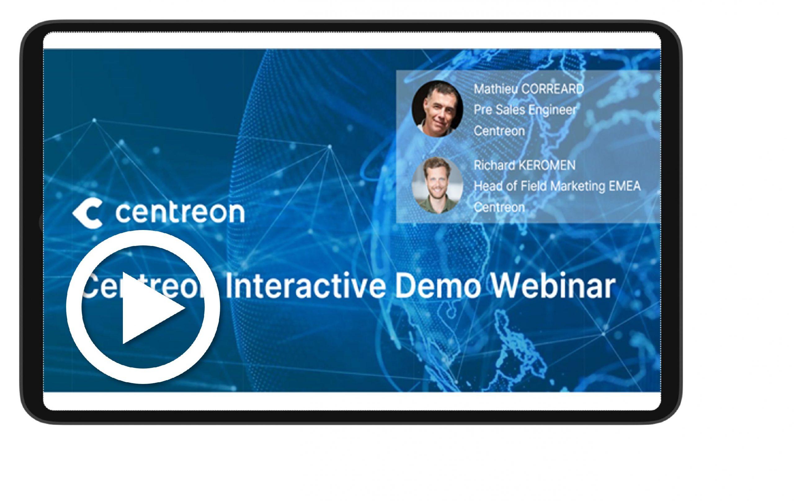 Centreon Interactive Demo