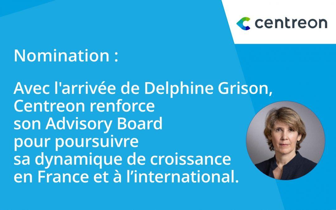 Delphine Grison rejoint l'Advisory Board de Centreon